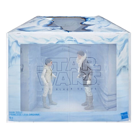 Image of Han Solo e Leia su Hoth Star Wars Black Series 2 Pack Exclusive Action Figure