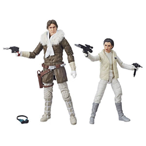 Han Solo e Leia su Hoth Star Wars Black Series 2 Pack Exclusive Action Figure