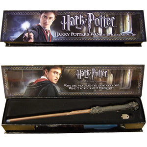 Harry Potter Bacchetta Magica Con Punta Luminosa Noble Collection