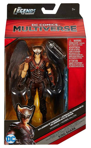 Image of Hawkman Dc Multiverse Mattel King Shark Collect and Connect Action Figure