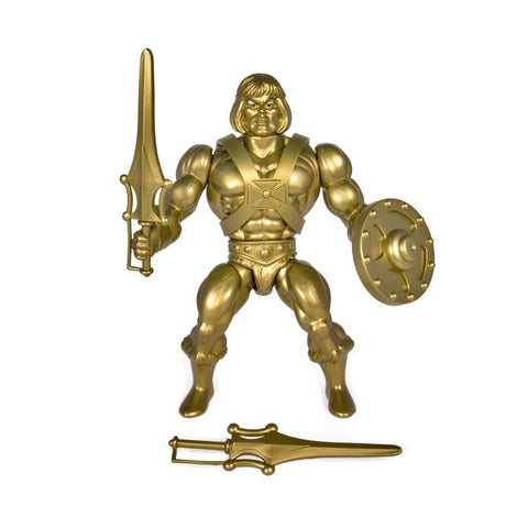 Image of He-Man Gold Action Figure Vintage Wave 3 Masters of the Universe