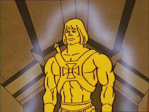 He-Man Gold Masters of the Universe Vintage Wave 3