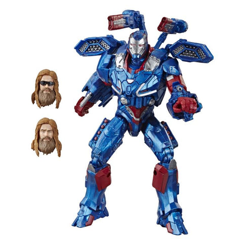 Iron Patriot Avengers Endgame Marvel Legends wave 3