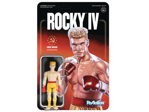 Rocky IV  Ivan Drago Reaction Figures Super 7