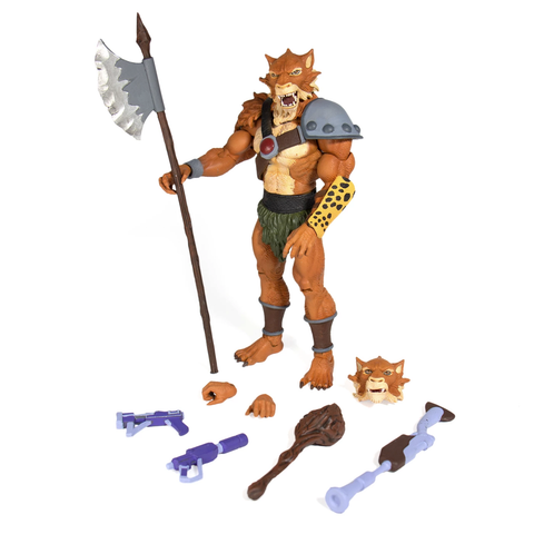 Jackalman Thundercats Super 7 Action Figure ultimates
