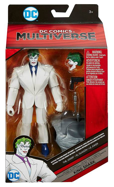 Joker Dc Multiverse Mattel King Shark Collect and Connect Action Figure