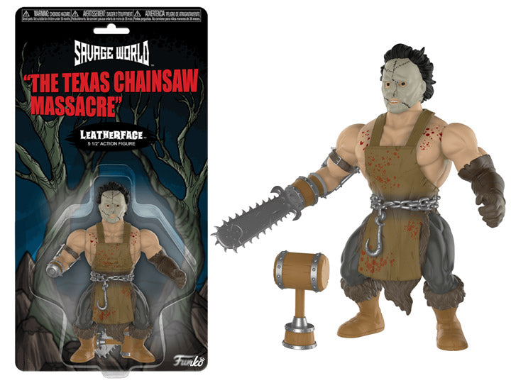 Leatherface Funko Savage World Non aprite quella porta