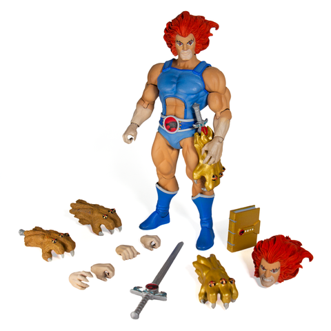 Image of thundercats ultimates lion-o' action figure super 7
