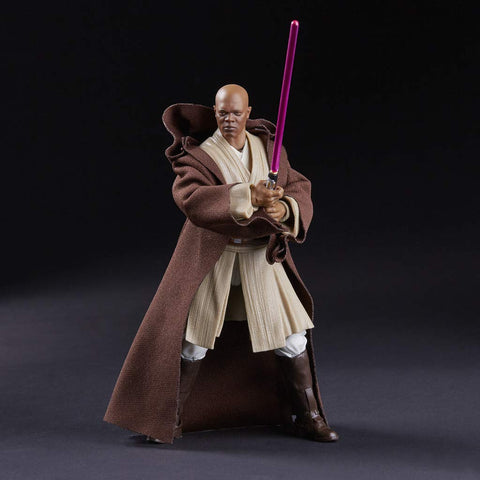Image of Mace Windu Action Figure Star Wars Black Series