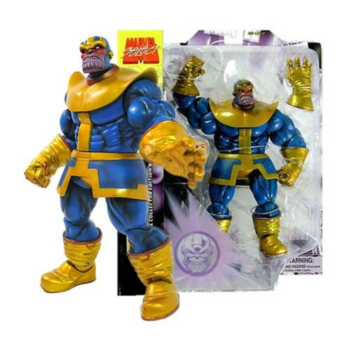 Thanos Marvel Select Action Figure 20 cm Diamond Select Toys