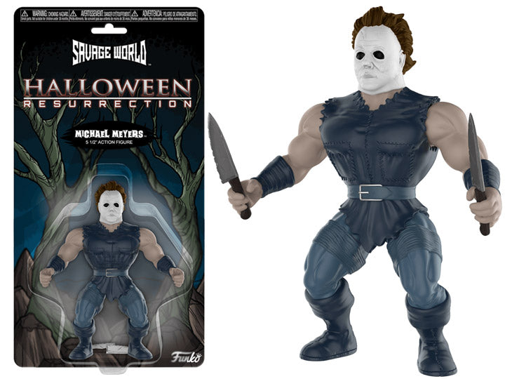 Michael Myers Halloween Funko Savage World Action Figure