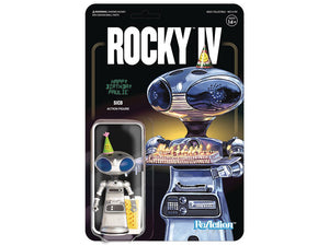 Rocky IV Paulie's Robot Reaction Figures Super 7