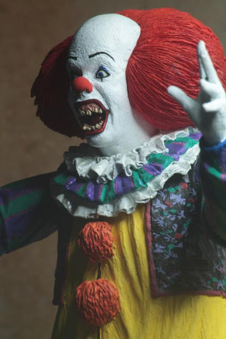 Image of Pennywise 1990 Versione 2 Action Figure Neca Ultimate It