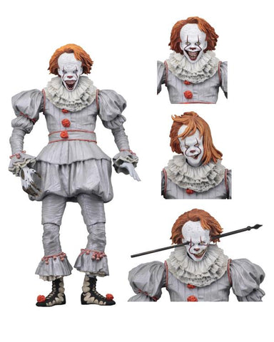 "Image of It 2017 Pennywise Neca ""Well House"" Ultimate Action Figure"
