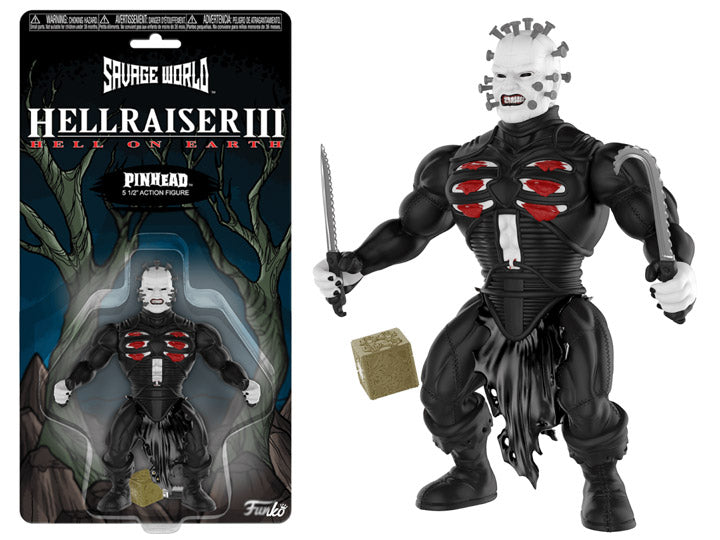 Pinhead Hellraiser Action Figure Funko Savage World