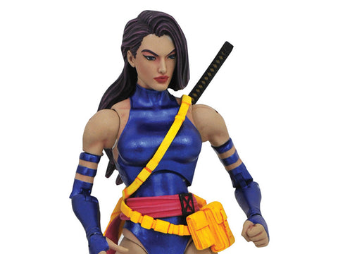 Image of Psylocke Marvel Select X-Men Action Figure