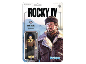 Rocky IV Reaction Figures Super 7 Winter Training