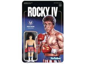 Rocky IV Reaction Figures Super 7 Sylvester Stallone