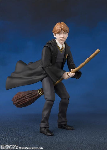 Image of Ron Weasley SH Figuarts Bandai Harry Potter Action Figure