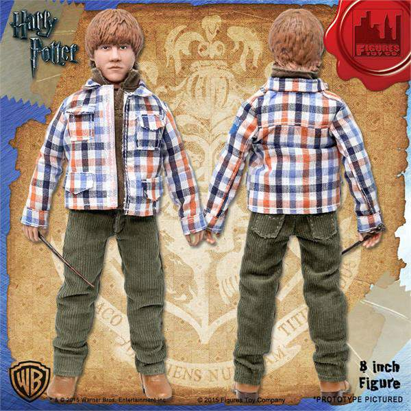 Ron Weasley Action Figure 20 cm Harry Potter Marca Figures Toy Company Mego