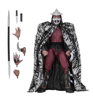 Tmnt Neca Shredder Action figure Tartarughe Ninja