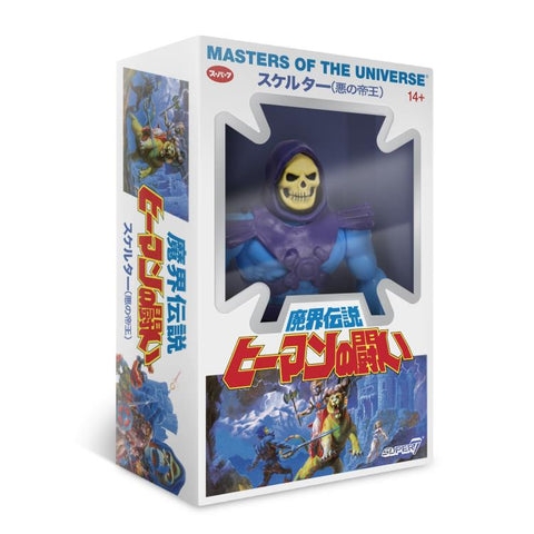 Image of Skeletor Masters of the Universe Vintage Versione Japanese Box
