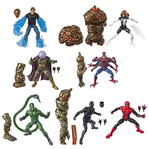 Spiderman Marvel Legends Wave 12 Molten Man baf - Personaggi Singoli