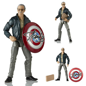 Stan Lee Action figure Marvel Legends 80 anni Marvel