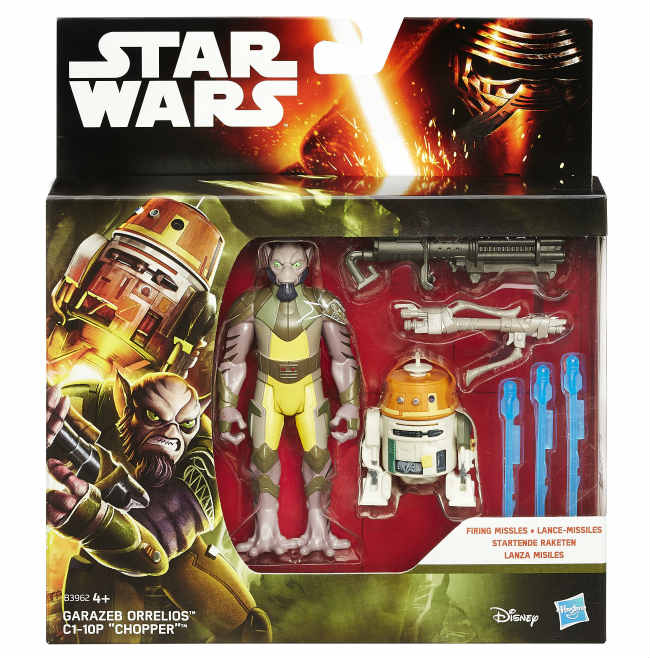 Star Wars Action Figure 2 pack 10 cm: Darth Vader, Han Solo, Yoda e Altri