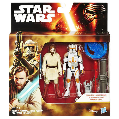 Image of Star Wars Action Figure 2 pack 10 cm: Darth Vader, Han Solo, Yoda e Altri