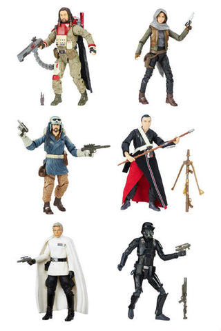Image of Star Wars Action Figure Rogue One Black Series Wave1 - 2017