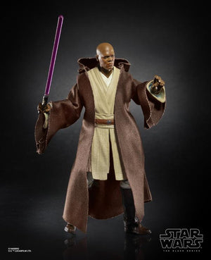 Mace Windu Action Figure Star Wars Black Series