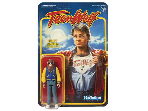 Teen Wolf Reaction Figures Letterman Edition - Super 7