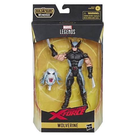 Image of X-Force Marvel Legends Wave 1 Wendigo Baf Action Figure