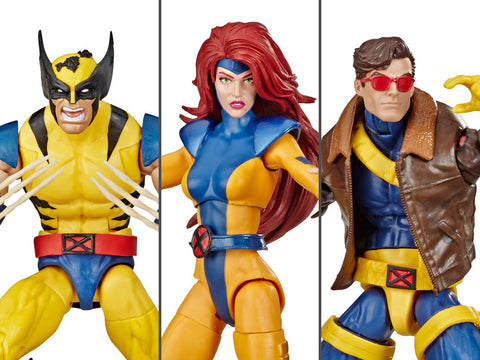 Image of X-Men 3 pack Marvel Legends Wolverine Jean Grey Cyclops