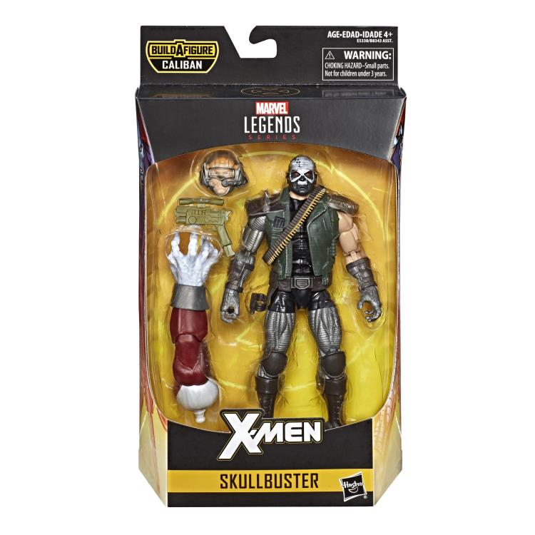 X-Men Marvel Legends Wave 4 Skullbuster