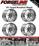 2014-19 Corvette Forgeline EX1 1-Piece Forged Monoblock Wheels - Nowicki Autosport