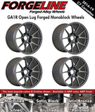 2014-19 Corvette Forgeline GA1R Open Lug 1-Piece Forged Monoblock Wheels - Nowicki Autosport