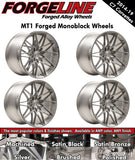 2014-19 Corvette Forgeline MT1 1-Piece Forged Monoblock Wheels - Nowicki Autosport