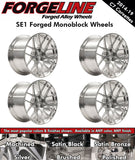 2014-19 Corvette Forgeline SE1 1-Piece Forged Monoblock Wheels - Nowicki Autosport
