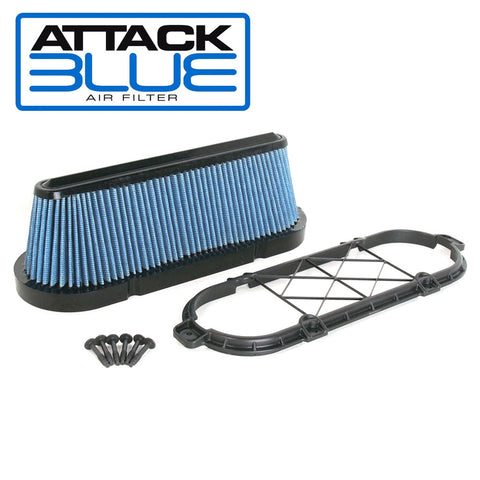 Late-2012-2013 Corvette LS3/LS7 Attack Blue Performance Air Filter w/GM Brace