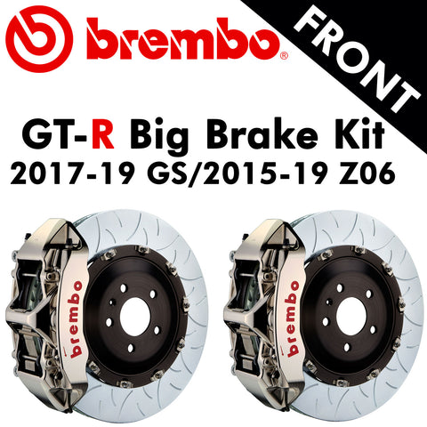 2017-19 Corvette GS/2015-19 Z06 Brembo GT-R Front Big Brake Kit