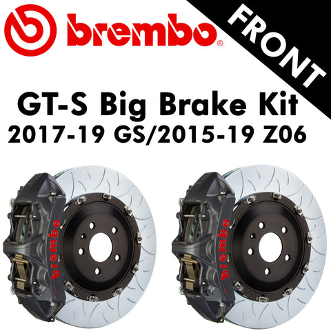 2017-19 Corvette GS/2015-19 Z06 Brembo GT-S Front Big Brake Kit