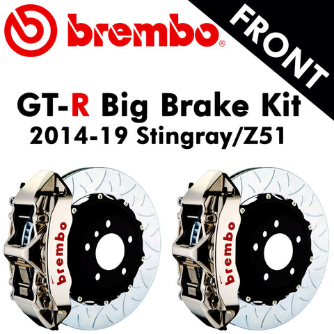 2014-19 Corvette Stingray/Z51 Brembo GT-R Front Big Brake Kit