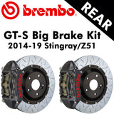 2014-19 Corvette Stingray/Z51 Brembo GT-S Rear Big Brake Kit - Nowicki Autosport