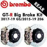 2017-19 Corvette GS/2015-19 Z06 Brembo GT-R Rear Big Brake Kit - Nowicki Autosport
