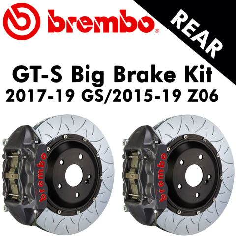 2017-19 Corvette GS/2015-19 Z06 Brembo GT-S Rear Big Brake Kit