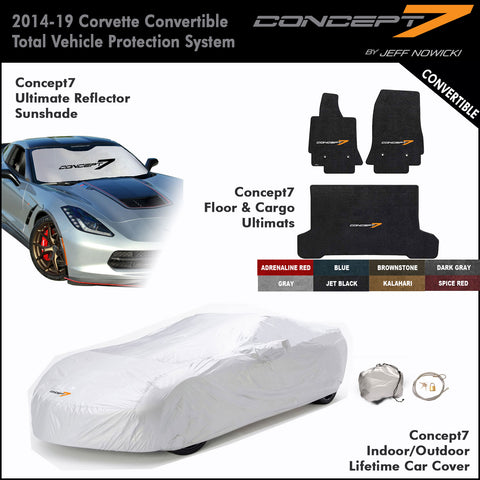 2014-19 Corvette Convertible Concept7 Total Vehicle Protection System (8 Colors)