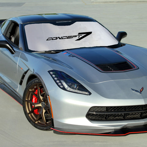 2014-19 Corvette Concept7 Folding Reversible Sunshade