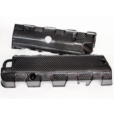 2014-19 Corvette Concept7 Carbon Fiber LT1/LT4 Dry Sump Engine Coil Covers (2 Variations)